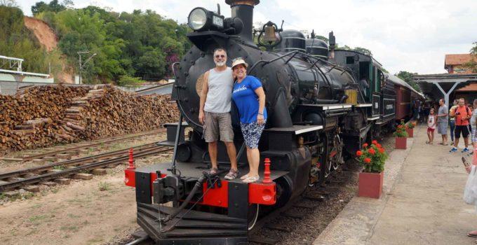Trem das Águas em São Lourenço – MG