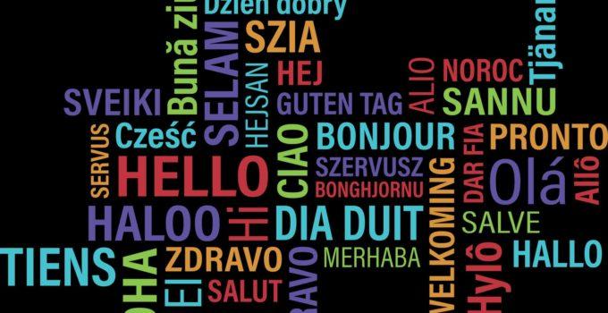 Línguas diferentes – Uma fronteira próxima de acabar