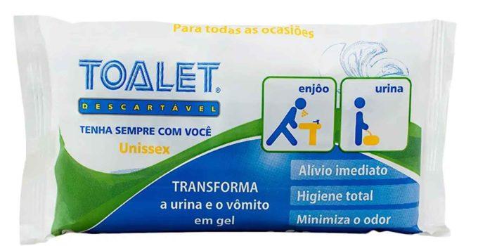Toalet Descartável Unissex – leve com você