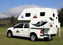 Mini Camper para as picapes pequenas