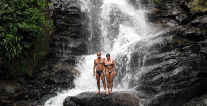 Cachoeira do Fundo em Aiuruoca, sul de Minas Gerais
