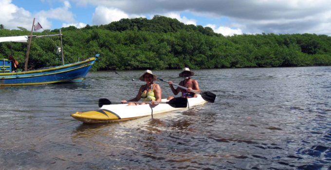 Caraíva, onde o rio encontra com o mar – Porto Seguro, Bahia