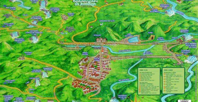 Santa Rita de Jacutinga, a cidade das cachoeiras – Minas Gerais