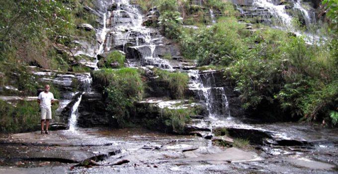 Cachoeira Véu da Noiva em Carrancas, MG