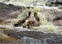 Rio Roncador na chapada Diamantina