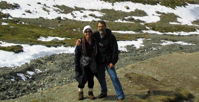 Glaciar Martial em Ushuaia, na Patagônia Argentina