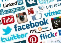 As mídias sociais e nosso mídia kit