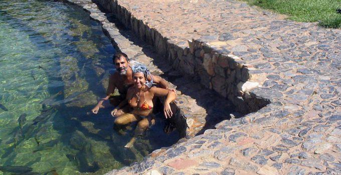 Balneário Municiapl em Bonito, no Mato Grosso do Sul