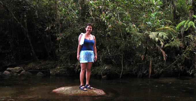 Cachoeira Santa Clara em Visconde de Mauá
