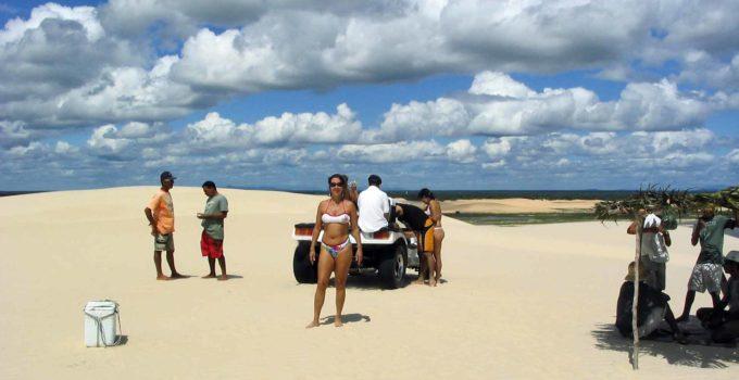 Dunas de Tatajuba em Fortaleza
