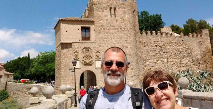 Puerta de Alcantara em Toledo, Espanha