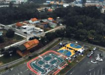Parque Municipal Harry Hobus em Rio do Sul, SC