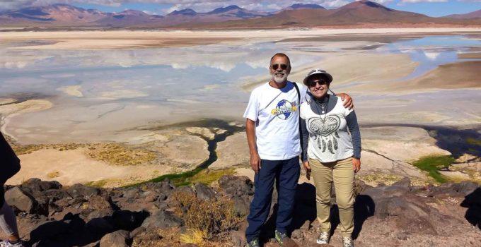 Lagunas Altiplanicas Piedras Rojas Atacama Chile