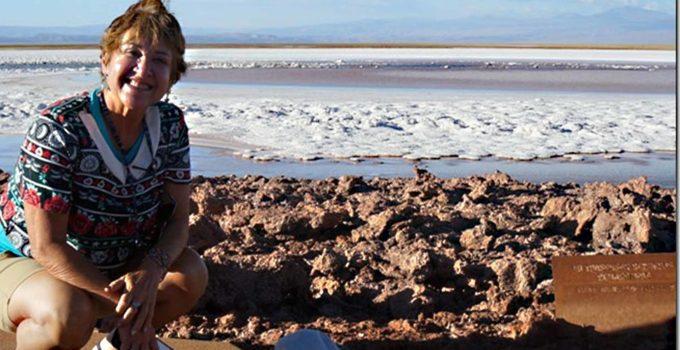 Lagunas Cejar no Atacama Chile