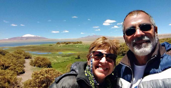Salar de Tara no Deserto do Atacama, Chile
