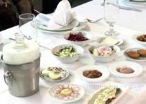 Restaurante Dona Irene em Teresópolis, Comida Russa