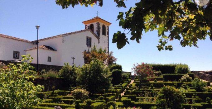Vilarejo Marvão em Portugal