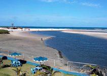 Praia de Águas Belas em Cascavel no Ceará