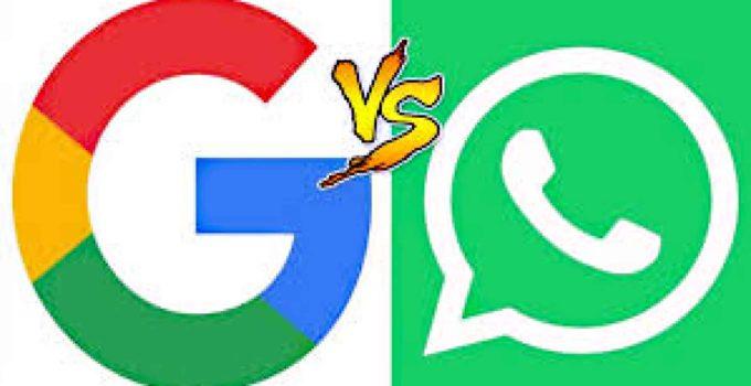 Usando o Whatsapp e o Google em suas viagens