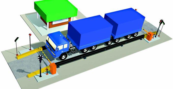 Pesagem de veículos pesados