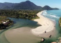 Praia de Itamambuca em Ubatuba
