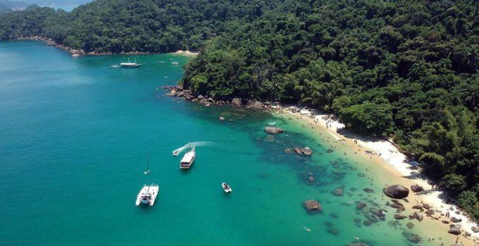 Ilha das Couves em Ubatuba