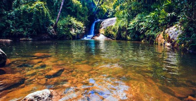 Cachoeira do Poço Negro no Roccio em Petrópolis