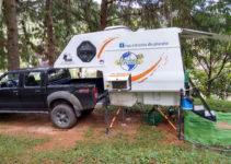 Nossa Camper estacionada no CCB de Ouro Preto