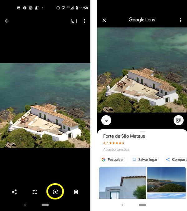 Google Lens, pesquisa por imagem de quase tudo. 2