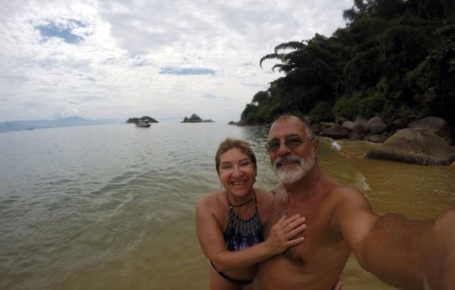 Praia da Lula em Paraty