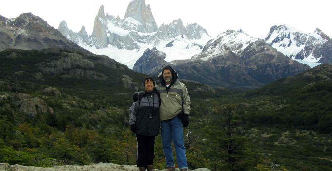 Cerro Fitz Roy em El Chalten na Argentina