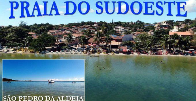Praia do Sudoeste em São Pedro da Aldeia