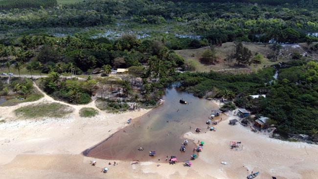 Riacho Doce em Itaúnas / ES